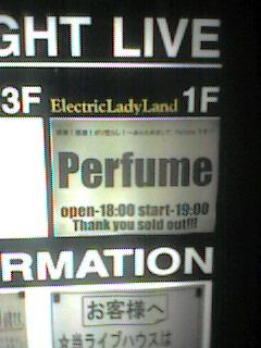 Perfume@名古屋ELL