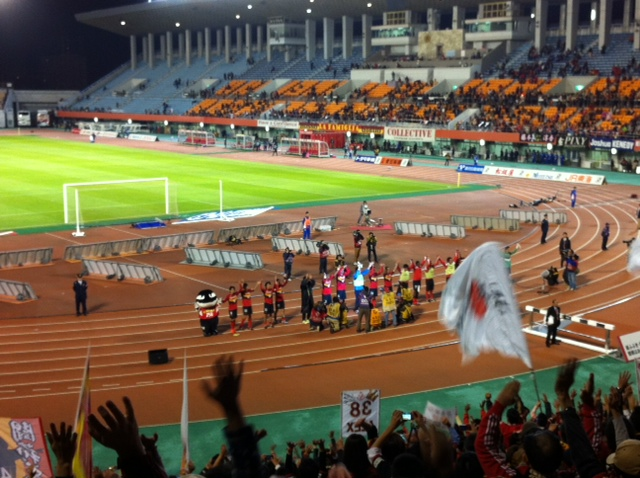 FC東京に勝利!