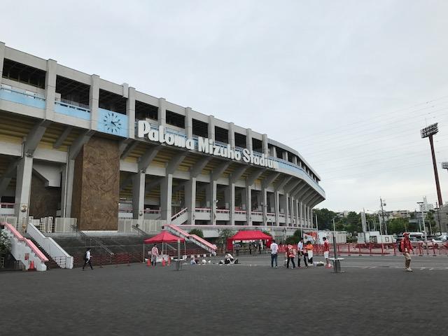 今日は瑞穂で天皇杯 初戦 vs.SRC広島