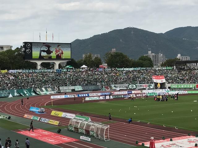 岐阜vs.名古屋まもなくキックオフ!