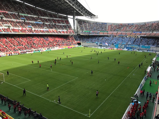 名古屋vs.磐田もうすぐキックオフ!