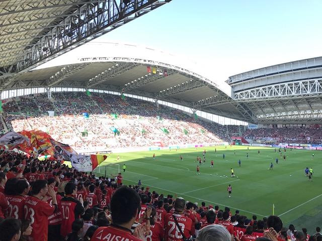 神戸vs.名古屋まもなくキックオフ!
