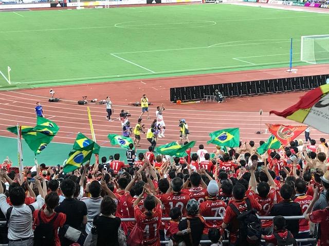 横浜に勝利!
